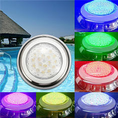18W RGB IP68 Waterproof Resin Swimming Pool Light Multi-Color Underwater LED Night Lamp 12V (1261254) #Banggood (SuperDeals.BG) Tags: superdeals banggood lights lighting 18w rgb ip68 waterproof resin swimming pool light multicolor underwater led night lamp 12v 1261254