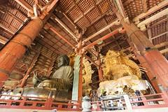 Templo de Todaiji, Nara, Japón / Temple of Todai-ji, Nara, Japan. (rrnavero) Tags: buda granbuda japón nara templo budismo religión estatua canoneos6d canon1635lf4is jesúsmaríamartín todaiji