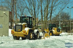 Cat 914M Wheel Loaders (Daily Diesel Dose) Tags: syracuse snow caterpillar