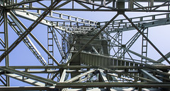 Wasserturm (wpt1967) Tags: 04032018 bochum eos6d industriekultur jahrhunderthalle nrw routederindustriekultur ruhrgebiet ruhrpott stahlindustrie wasserturm canon28mm vonunten wpt1967