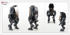 Raptor series: Overseer (Brixnspace) Tags: raptor walker frame powersuit suit lego moc toy biped overseer