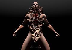 Ito (Winter Jefferson) Tags: secondlife winterjefferson bodyhorror avatar hands meliimako horror mutation