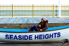 IMG_0062 (Sickbones_photography) Tags: beach ocean seaside nj newjersey blackwhite color sand water dream arcade