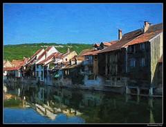 Ornans_Bourgogne-Franche-Comté_Ville natale peintre français Gustave Courbet (1819 - 1877)_France (ferdahejl) Tags: ornans bourgognefranchecomté gustavecourbet france dslr canondslr