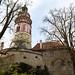 Torre do castelo de Cesky Krumlov