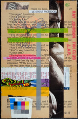 103-CIII (fanclub13) Tags: rjfc collage collageart trashart rayjohnsonfanclub bookart streetart destijl recycling trashcollage bookpages