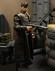 The thief makes his move. (chevy2who) Tags: jedi last bright canto dj inch six series black figure action toy wars star