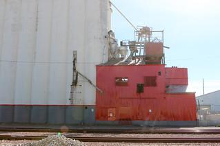 Fresh Paint - F.P. Nielson Grain Elevator - 7332