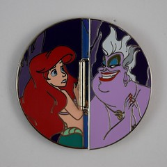Disneyland Pin Purchases - 2018-01-25 - Once Upon a Time - Ariel and Ursula (drj1828) Tags: disneyland purchase pin limitededition 2018 ariel thelittlemermaid ursula