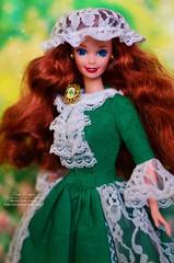 Irish Barbie Mattel (Lindi Dragon) Tags: doll barbie mattel ireland irish 1995 superstar