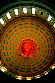 Wisconsin State Capitol - Interior Dome - Madison Wisconsin