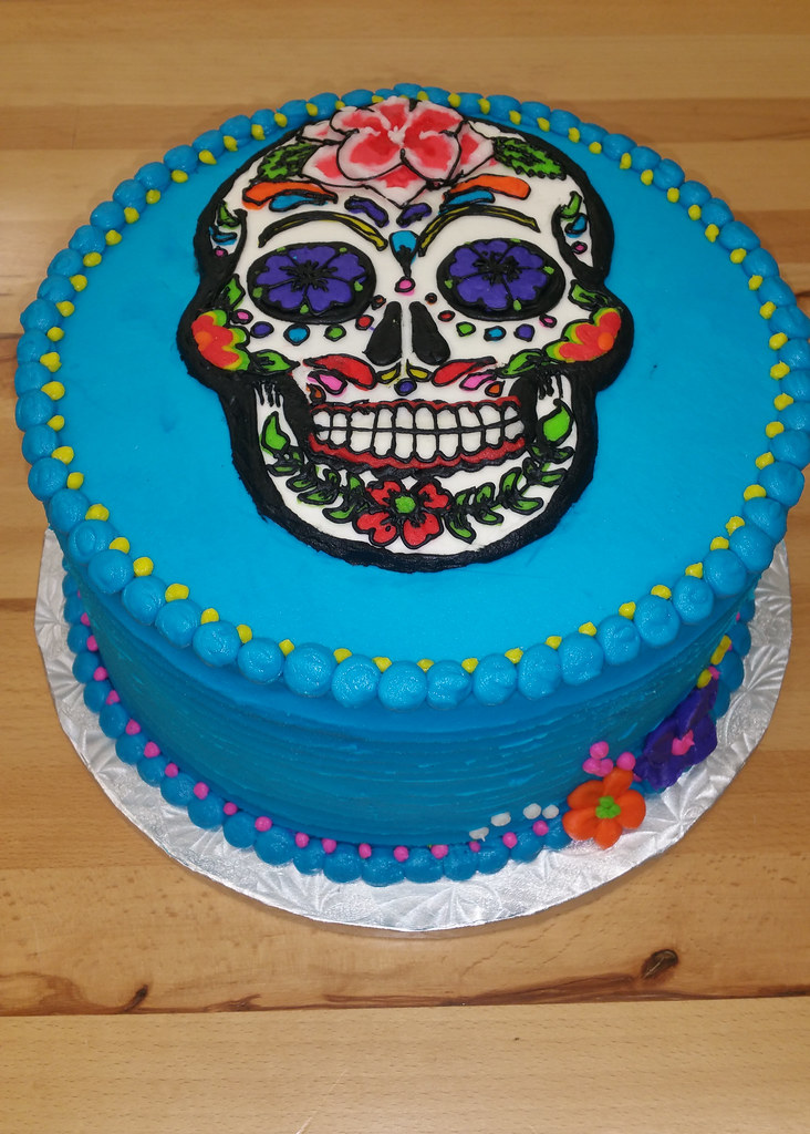 day of the dead cake the world s best photos of birthday and skull flickr 3323