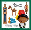 It's a Balloon World After All - Morocco (magirob) Tags: morocco camel dromedary lamp slipper slippers mosque tower marrakesh fez balloonworld balloon world balloons balloonart art aroundtheworld around