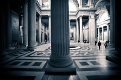 Paris, Pantheon, nef, 3 (Patrick.Raymond (4M views)) Tags: paris pantheon eglise nef baroque hdr nikon