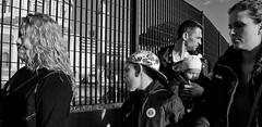 Happy families. (Baz 120) Tags: candid candidstreet candidportrait city candidface candidphotography contrast street streetphoto streetcandid streetphotography streetportrait sony a7 fullframe faces europe women rome roma romepeople romecandid romestreets monochrome monotone mono noiretblanc blackandwhite bw urban life primelens portrait people pentax20mm28 italy italia grittystreetphotography decisivemoment strangers