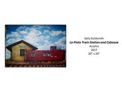 """La Plata Train Station and Caboose • <a style=""""font-size:0.8em;"""" href=""""https://www.flickr.com/photos/124378531@N04/39221154545/"""" target=""""_blank"""">View on Flickr</a>"""