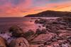 Burning sunset (Matteo Tidili Meteorologist) Tags: sunset tramonto landscape paesaggio lenticolar lenticolari villasimius sardegna sardinia sun sunny sunlight sea seascape sealife