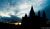 Cathedral Silhouette (daveseargeant) Tags: rochester cathedral medway leica x typ 113 silhouette