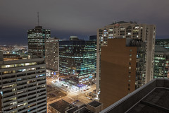 Bronson Place - 2017 - Ottawa (felix_shots) Tags: ottawa ontario canada rooftop roof rooftopper rooftopping ontheroof city cityscape cityview building canon6d night nightshot longexposure