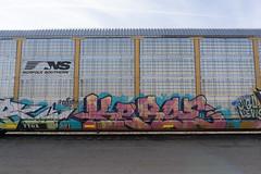 Kerse (serotoninflood) Tags: kerse graffiti freight autoracks freighttraingraffiti coup coupe legendsthursday