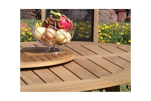 Lazy susan  75cm diameter-Teak Garden Furniture