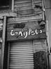 "Pasta Restaurant ""I want to talk"" (Long Sleeper) Tags: street shop building restaurant パスタしゃべりたい bw monochrome october tanukikoji susukino sapporo hokkaido japan dmcgx1"