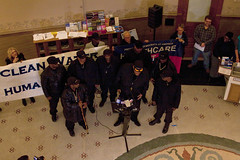 Milwaukee Black Panthers Get the Lead Out of Our Water Press Conference Milwaukee City Hall 2-14-18  9734 (www.cemillerphotography.com) Tags: tainted poisoned corroded deadly unhealthy learningdefects kids children harmful toxin toxic schools homes pipes drinkingwater filter disease substance chemical ingest breathein paint