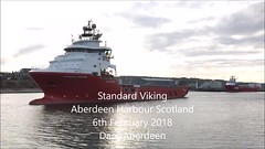 Standard Viking - Aberdeen Harbour Scotland - 6/2/2018 (DanoAberdeen) Tags: candid amateur aberdeen aberdeenscotland aberdeencity abdn aberdeenharbour abz video mpeg mp4 4k 2018 cargoships tug tugboat workboats seafarers seaport seascape northsea northseasupplyships northseasupplyvessels northeastsupplyships northeastsupplyvessels oilships oilrigs oilrigsupplyships offshore offshoreships offshorevessels offshoresupplyship psv supplyships maritime iphone iphone7plus iphoneography iphonevideo aberdeenunionstreet water autumn summer spring winter scotland scottish schotland škotija scotia harbour docks anchorhandling navigation geotagged northpier standardviking standarddrilling oilandgas