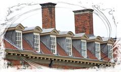 Dormer Windows (Audrey A Jackson) Tags: canon60d hanburyhall dormerwindows history chimneys 1001nights