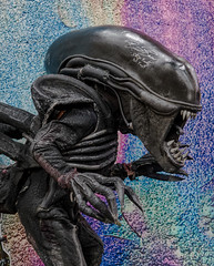 Alien Color (biker1337) Tags: 2018 alien america bayarea ca california comiccon comicconvention concord contracosta contracostacounty eastbaycomiccon franchexo1111 northamerica sanfranciscobayarea us usa unitedstates xenomorph
