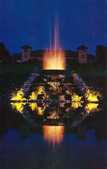 Forest Park, St. Louis, Missouri (Thomas Hawk) Tags: america forestpark missouri stlouis usa unitedstates unitedstatesofamerica vintage fountain night postcard fav10 fav25