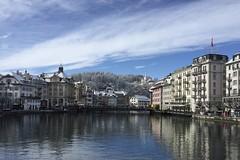 Lucerne / Luzern in winter Switzerland (roli_b) Tags: lucerne luzern lucerna switzerland schweiz suisse suiza svizzera snow winter schnee 2018 travel viajar turismo tourism