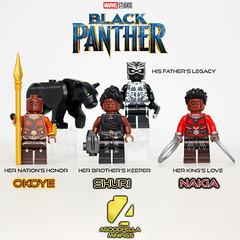 Black Panther [MCU] ⚫🐆👑 (agoodfella minifigs) Tags: legomarvel lego legosuperheroes legomarvelsuperheroes legoavengers marvel minifigures marvelcomics minifigure marvellego blackpanther tchalla okoye nakia shuri