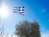 Church of St George [explored] (AlexKapunkt) Tags: greece athen athina griechenland flagge himmel sky clouds kirche kreuz fahne flag explored explore