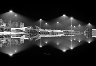 Piraeus  port reflections