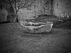 Piedra barca (Luicabe) Tags: agua airelibre árbol barca blancoynegro cabello castillo enazamorado exterior gris hierba luicabe luis monocromático muralla naturaleza piedra planta roca sanaría yarat1 zamora ngc