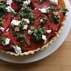 tomato pesto tart (ekpatterson) Tags: 2017 tart pastry tomatoes basil tomatotart cooking