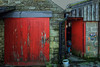 tubby (lowooley.) Tags: eastallenvalley northpennines northumberland northernengland barn tub tubby red doors