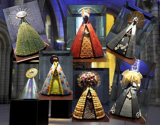 The Royal Abbey of Fontevraud: Exhibition of chocolate sculptures