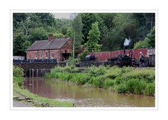 IMG_1685_pe Blist Hill (Audrey A Jackson) Tags: canon60d blistshill ironbridge livingmuseum canal buildings history engine bridge