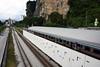 Batu Caves station (Howard_Pulling) Tags: kualalumpur train rail railway ktm malaysia howardpulling