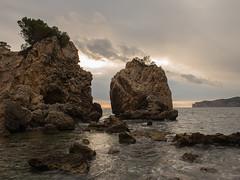 ...:) (tonina41) Tags: 2470mm mallorca horabaixa mar núvols postadesol santaponça sunset