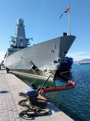 HMS Duncan at Malaga (David Parody) Tags: