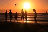 Playing on the beach at sunset - Tel-Aviv - Follow me on Instagram:  @lior_leibler22 (Lior. L) Tags: playingonthebeachatsunsettelaviv playing beach sunset telaviv silhouettes sea seascapes israel