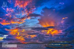 Sai Wan Pier Sunset (Not Just About Design) Tags: sunset hongkong saiwanpier sony a7 landscape sky