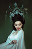 虞姬 (jajasgarden) Tags: asian goddess white crown queen empress nikon d810 fantasy dream seattle creative fairytale portrait fineart
