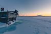 Calm Sunset (Bunaro) Tags: calm freezing sunset clear sky ice winter snow helsinki kallahti vuosaari suomi finland europe landscape nature