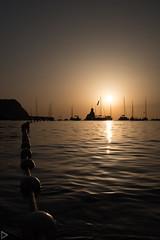 Ibiza-1287 (system slave) Tags: benirrás bolearicislands evissa ibiza mediterranean spain buoys sunset water