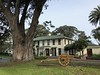 The General's House. (Melinda Young Stuart) Tags: cannon historic fortmason generalshouse general park ggnra preserved nps sanfrancisco military history eucalyptus architecture door windows house landscape