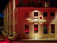 Denkfabrik - Wissensquartier der Zukunft (alterahorn) Tags: lüdenscheid denkfabrik wissensquartier forschung bildung zukunft architektur nacht licht olympus mzuiko mzuiko25mm olympusomd